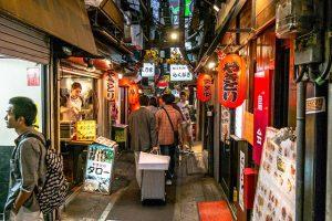 Die Tradition ist in Tokio noch zu finden.