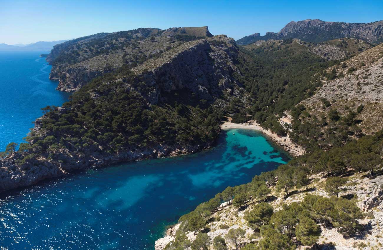 Cala Murta © fincallorca-flyvision.eu