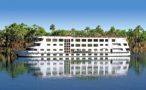 Nil-Kreuzfahrt - Premiumschiff-Außenansicht