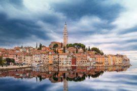 Die kleine istrische Halbinsel zeigt sich von ihrer schönsten Seite