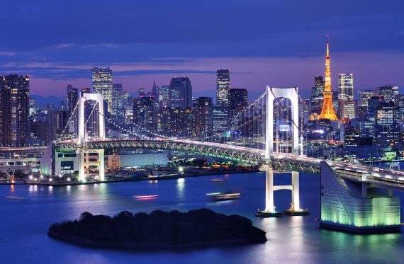Tokyo bei Nacht