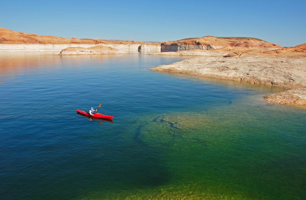 Lake Powell verspricht Abenteuer und Entspannung