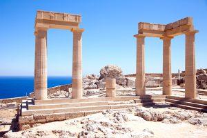 Rhodos - antike Tempel