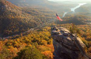 Chimney Rock Aerial