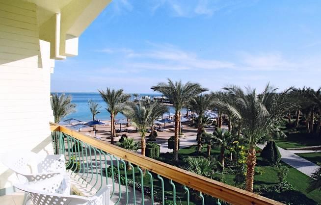 Ägypten/Hurghada - Regina Swiss Inn Resort -Blick vom Balkon
