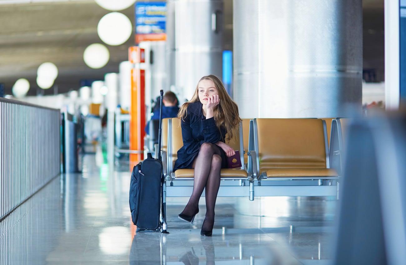 Check-In Zeiten beachten beim Abflug