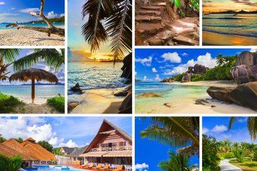 Collage Strandbilder
