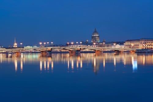 St. Petersburg. Fluß Newa