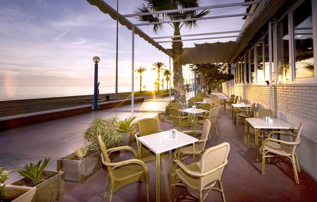 Andalusien/Hotel Elimar - Terrasse