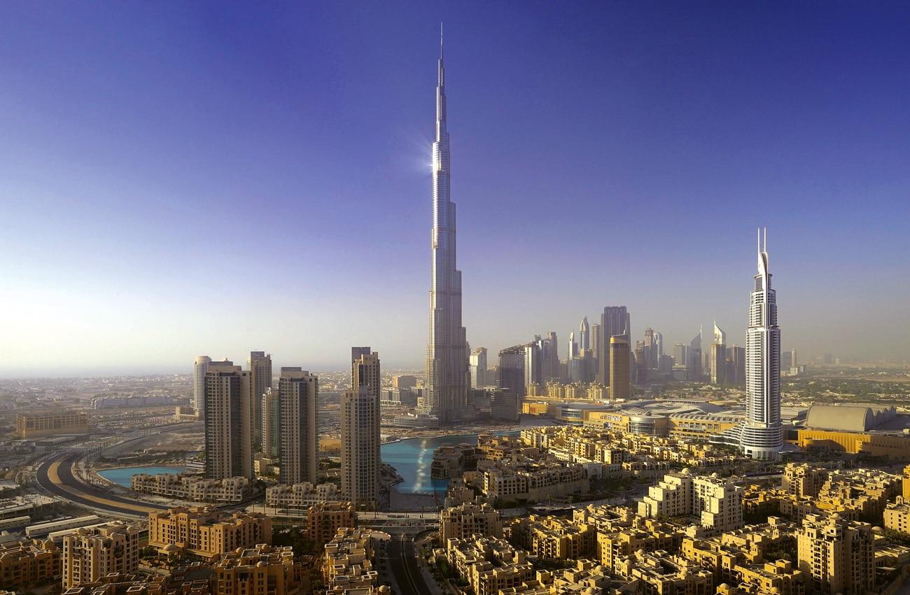 Downtown in den Emiraten