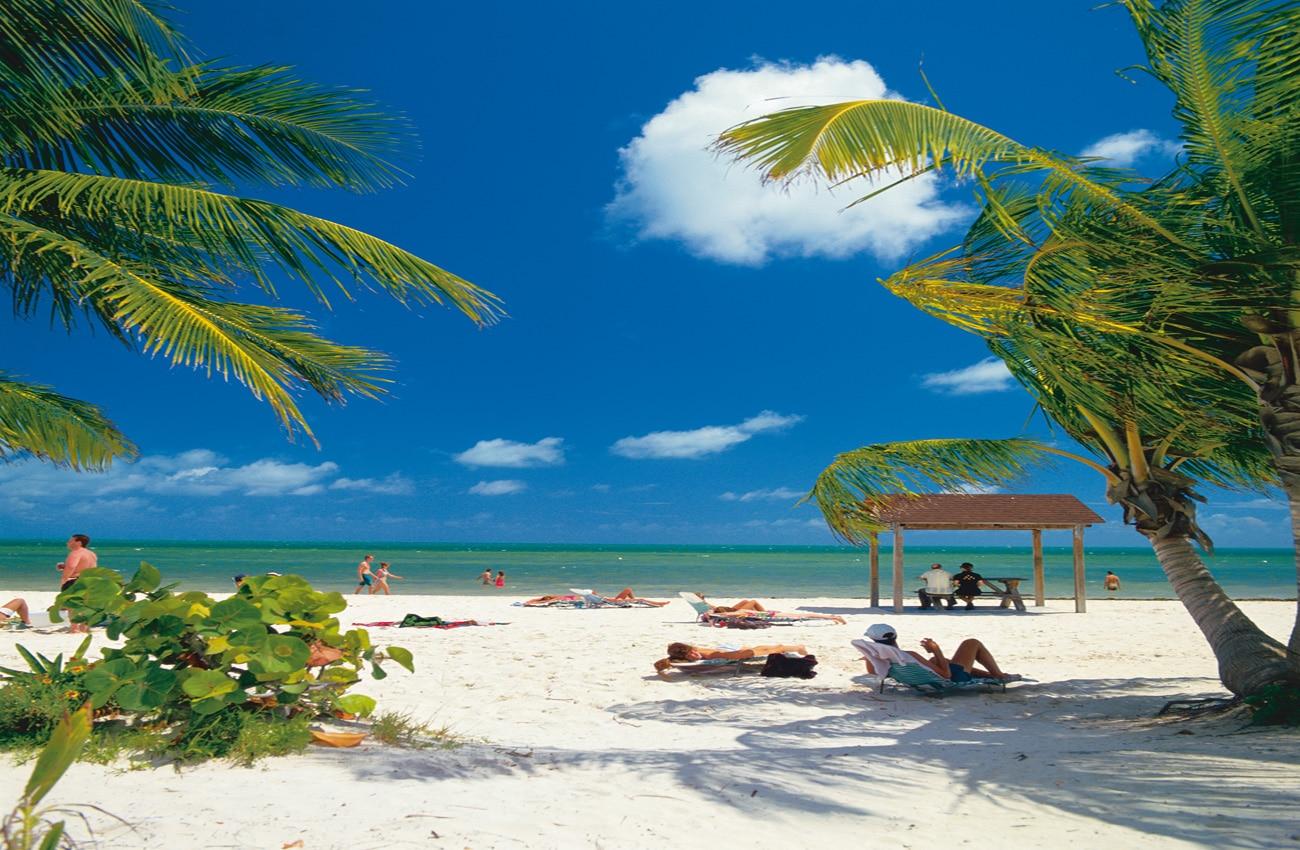 Strand in Florida Westküste