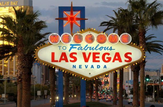 Las Vegas Schild Nevada