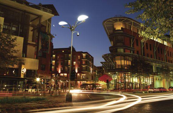Melrose Arch Südafrika Johannesburg