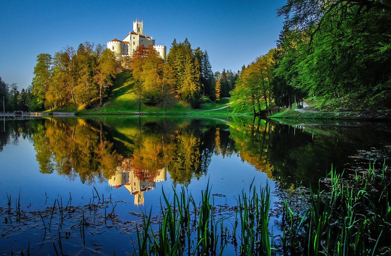 Burg Trakošćan in Kroatien