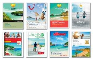 8 Kataloge der Reiseveranstalter