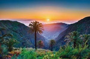 Tal von La Gomera (Kanaren)