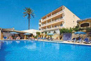 Mallorca/ Hotel Venecia - Außenansicht