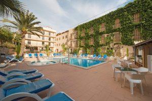 Mallorca/ Hotel Venecia - Pool + Terrasse