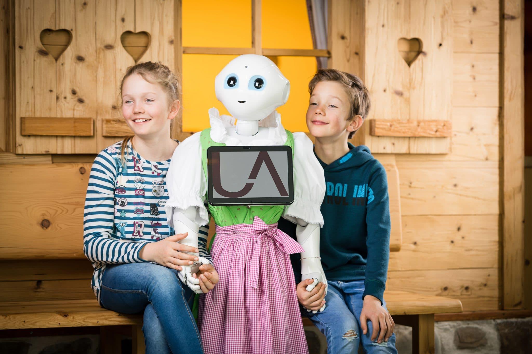 Übergossene Alm Resort: Roboter im Hotel