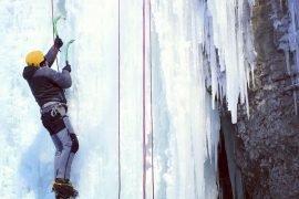 Eisklettern in Kanada