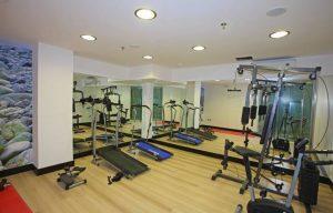 Olympic Palladium - Fitnessraum