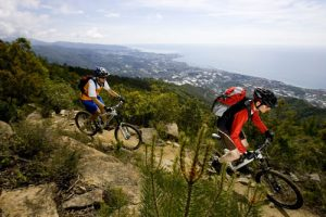 Ligurien Sanremo Mountainbike