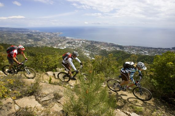 Ligurien -Bike Route