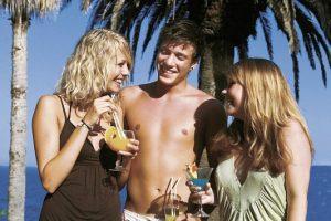 Hotel Aphrodite - Party am Strand