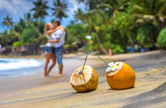 Verliebte am Strand