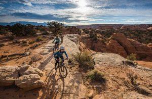 Mountainbiking in Moab