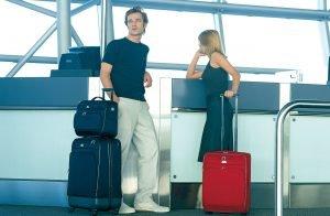 Passagiere am Flughafen