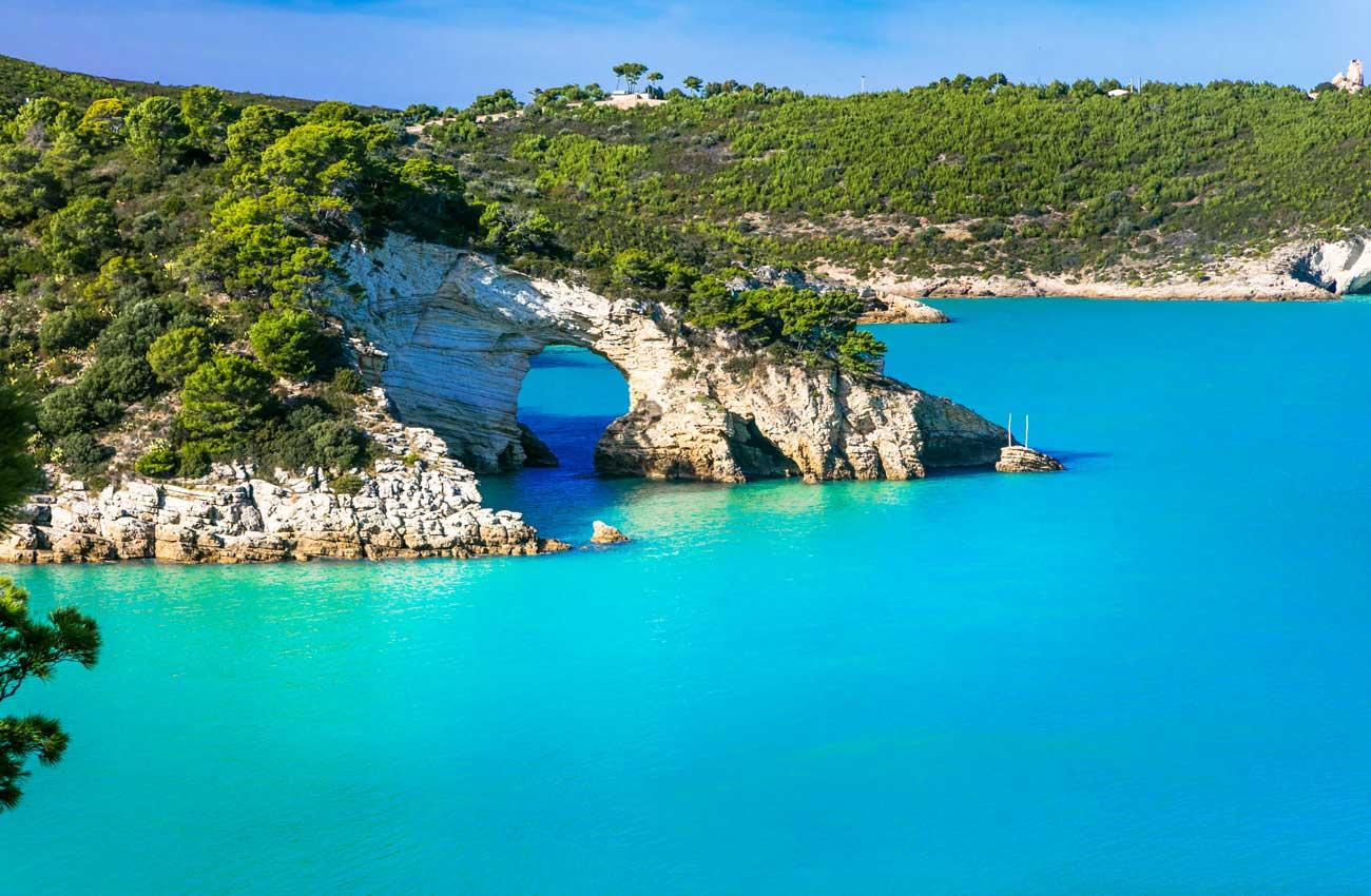 Küste im Süden von Apulien