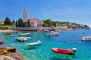 Insel in Kroatien