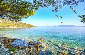 Bucht Istrien