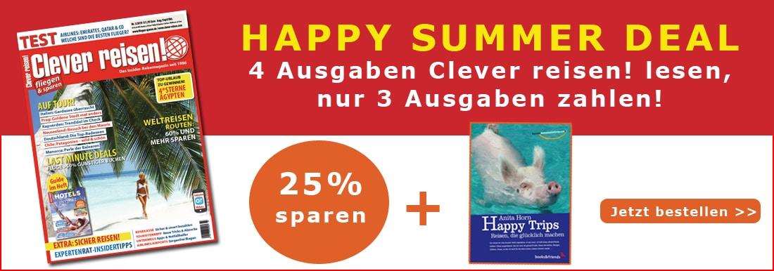 Clever reisen! Summer Deal