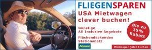 fliegen-sparen Nordamerika Mietwagen Special