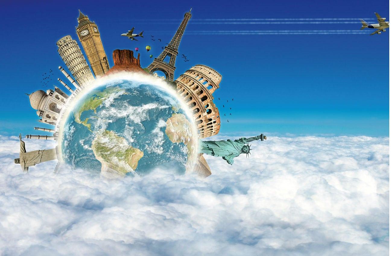 Mit dem Billigflieger um die Welt
