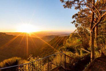 Aussichtsplattform im Lamington Nationalpark