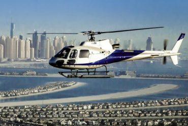 Dubai von oben bei einem Helikopter-Rundflug zu erleben ist ein ganz besonderes Highlight.