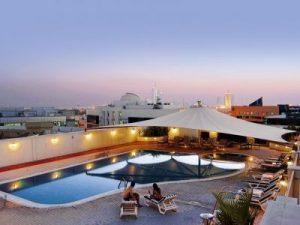 Mövenpick Bur Dubai - Dachterrasse