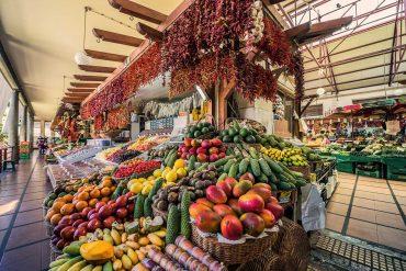 Markt auf Madeira