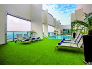 Hotel First Central - Dachterrasse