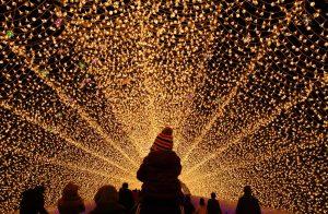Lichterfest in Japan