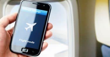 Flugmodus beim Handy