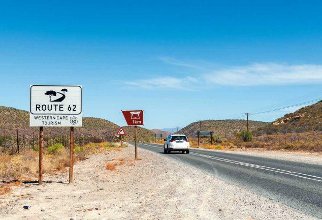 Südafrika : Route 62