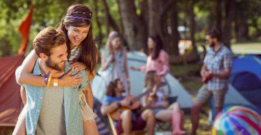 Festival junge Menschen